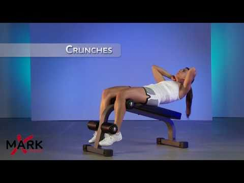 XMark Mini Ab Bench – XM-7601 – Great Ab and Core Workout