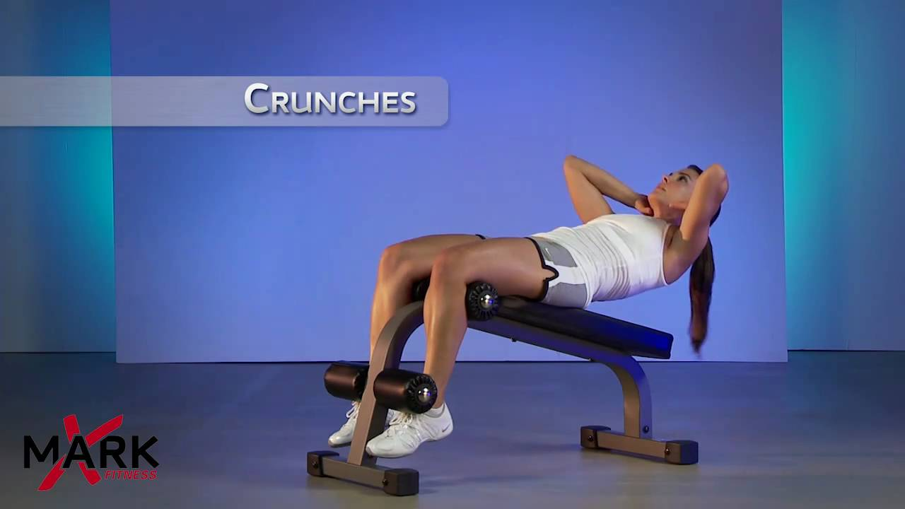 Xmark Mini Ab Bench Xm 7601 Great Ab And Core Workout