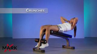 XMark Mini Ab Bench - XM-7601 - Great Ab and Core Workout