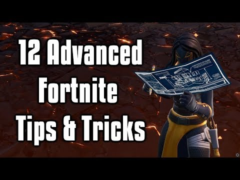 12 Advanced Fortnite Tips & Tricks You Need To Learn! - Building, Editing, and Settings Pro Tips
