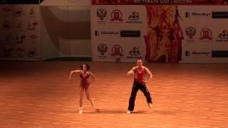 �������� ���� Акробатический рок-н-ролл. Чемпионат России 2013. ������