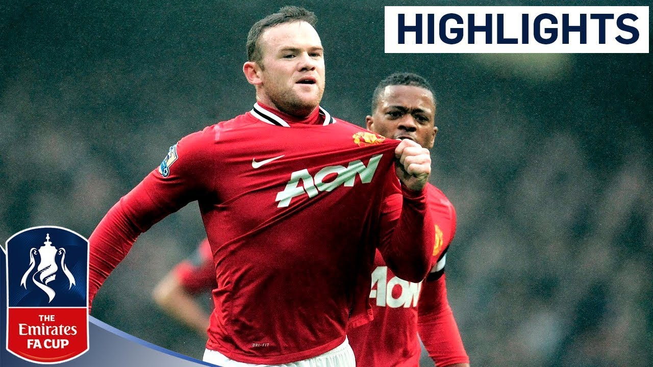 best value c2ed6 28b1c Manchester City 2-3 Manchester United | United Resist City Comeback | FA  Cup Third Round 2011/12