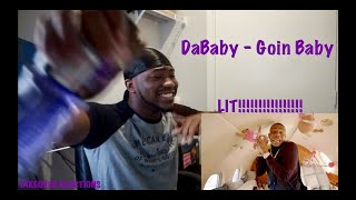 DaBaby - Goin Baby [Official Music Video] REACTION