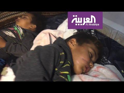 صور للعربية من داخل أحد مراكز النازحين عند الحدود السورية التركية  - 22:54-2019 / 10 / 10