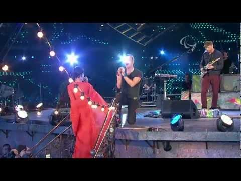 Coldplay - Princess Of China (feat. Rihanna) - 9/16 - Live @ Paralympic Games Closing Ceremony