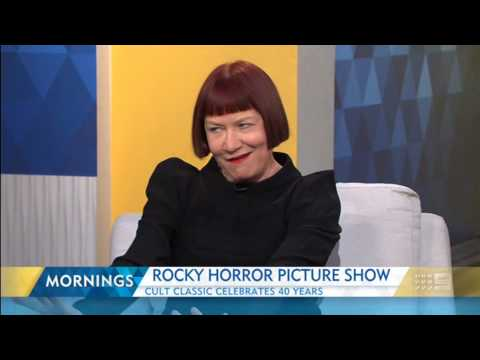 Rocky Horror Picture Show - 40th anniv.  Nell Campbell