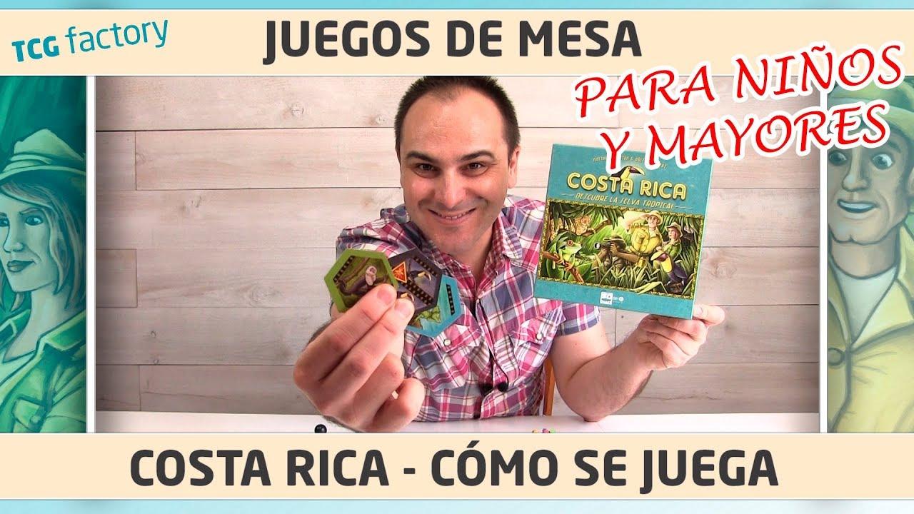 Costa Rica Como Se Juega En Espanol Juego De Mesa Youtube