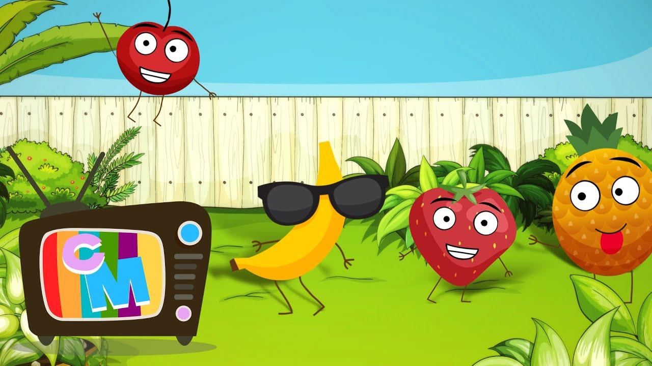 Fructele - Clopotelul Magic - cantece educative pentru copii