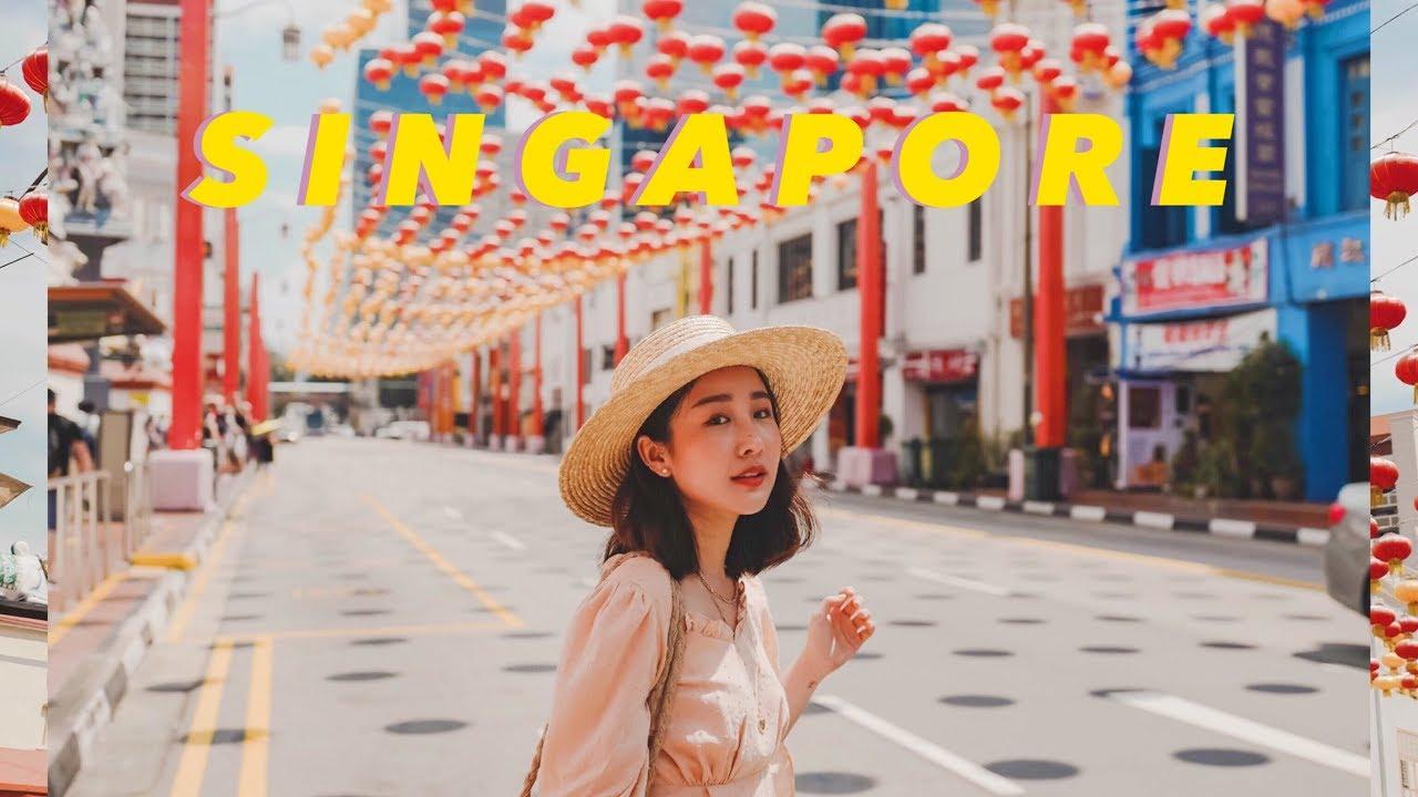 VLOG SINGAPORE 🇸🇬  สิงคโปร์เที่ยวง่ายๆไม่คิดเยอะ ถ่ายรูป ชมวิว คาเฟ่ สวนสนุก! (klook)| Brinkkty