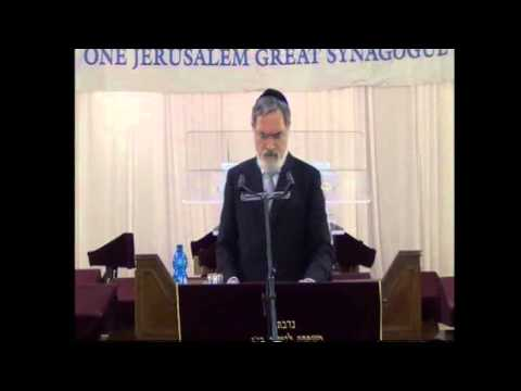 Rabbi Jonathan Sacks at the Great Synagogue Nov 12 2013