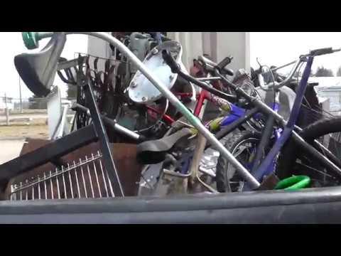 Garbage Picking And Scrapping Metal The Life Of John Picker!! Alpena Michigan