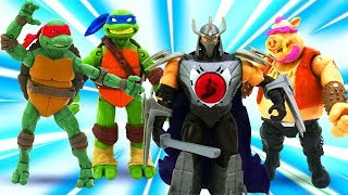 Игрушки Супергерои и Черепашки ниндзя. Большой сборник видео с игрушками.