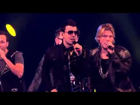 New Kids On The Block & Backstreet Boys Live in London NKOTBSB Tour