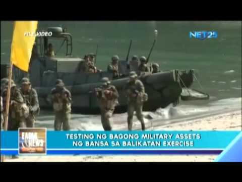 Philippines tests new military assets
