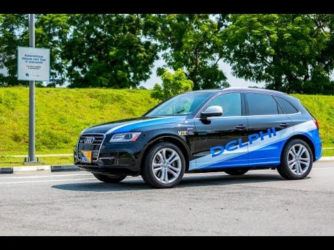 Delphi Tests Self Driving Car Service In Singapore