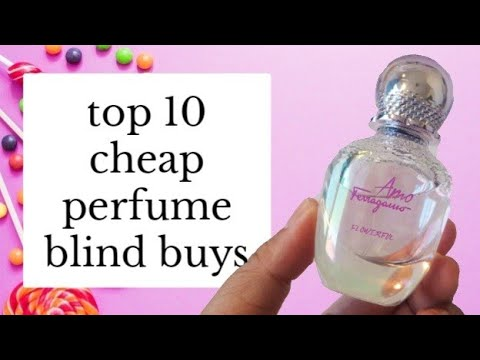 TOP 10 FAVOURITE CHEAP PERFUME BLIND BUYS Under $30 | From My Perfume Collection