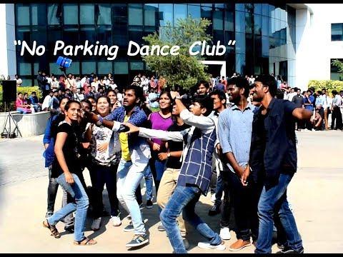 FlashMob | CYIENT | Manikonda | HYDERABAD | No Parking Dance Club | 2017