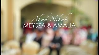FAMILY VLOG - MEYSZA & AMALIA'S WEDDING CEREMONY in Bandung