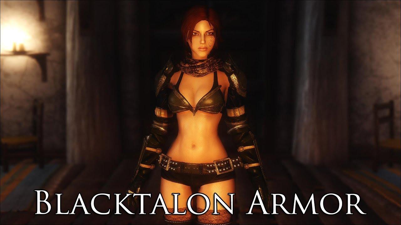 TES V - Skyrim Mods: Blacktalon Armor for UNP