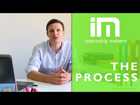 Find an internship abroad - Internship Makers' Process