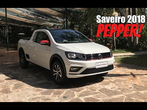 Volkswagen Saveiro Pepper 1.6 Manual 2018 - Falando De Carro