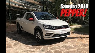 Volkswagen Saveiro Pepper 1.6 Manual 2018 - Falando de Carro