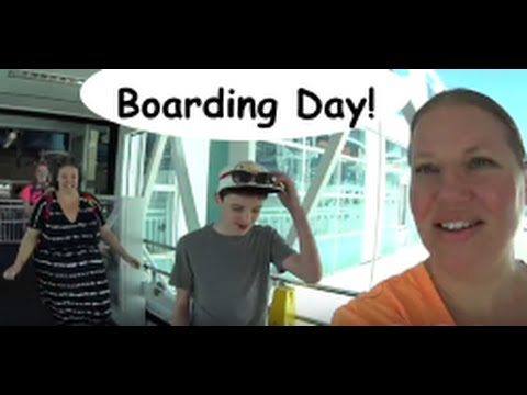 Boarding the Norwegian Sky ship! Cruise VLOG ep 1
