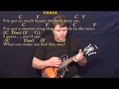 My Girl (TEMPTATIONS) Mandolin Cover Lesson with Chords/Lyrics ...