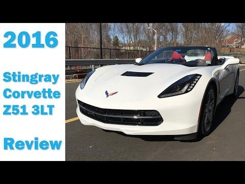 2016 Convertible C7 Corvette Stingray Z51 3LT - Review   Cars 101