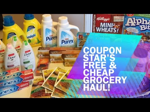 FREE & CHEAP GROCERY HAUL - SEPT 30TH 2016 - COUPONING IN CANADA!