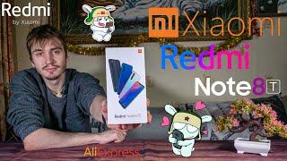 Распаковка и первое впечатление на смартфон Redmi Note 8T от Xiaomi