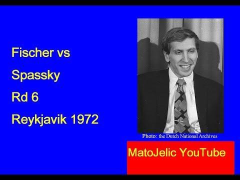 Fischer vs Spassky 1972 The Match of the Century-Round 6
