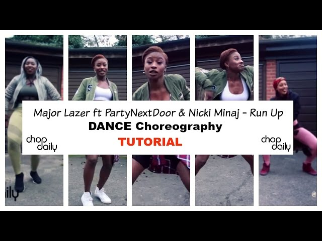 Run Up Dance Tutorial