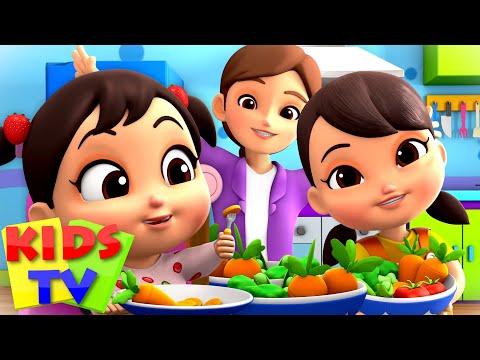 Vegetable Song | Yummy Veggies | Healthy Food | Nursery Rhymes for Children & Baby Songs | Kids Tv