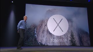 Apple WWDC 2014 - OS X 10.10 Yosemite Introduction