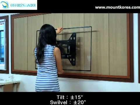 Universal Lcd Led Tv Wall Mount Bracket Youtube