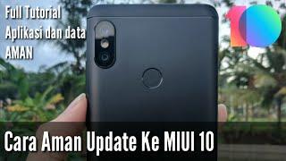 Trik Update MIUI 10 Di Semua Xiaomi Biar Aplikasi Dan Data Gak Hilang
