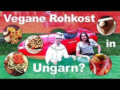 Vegane Rohkost in Ungarn - Nyers vegàn!