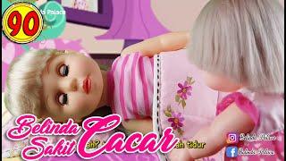 #90 Belinda Sakit Cacar - Boneka Walking Doll Cantik Lucu -7L   Belinda Palace