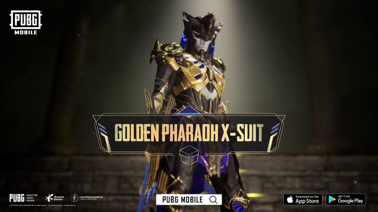 PUBG MOBILE - Golden Pharaoh X-Suit Available Now!