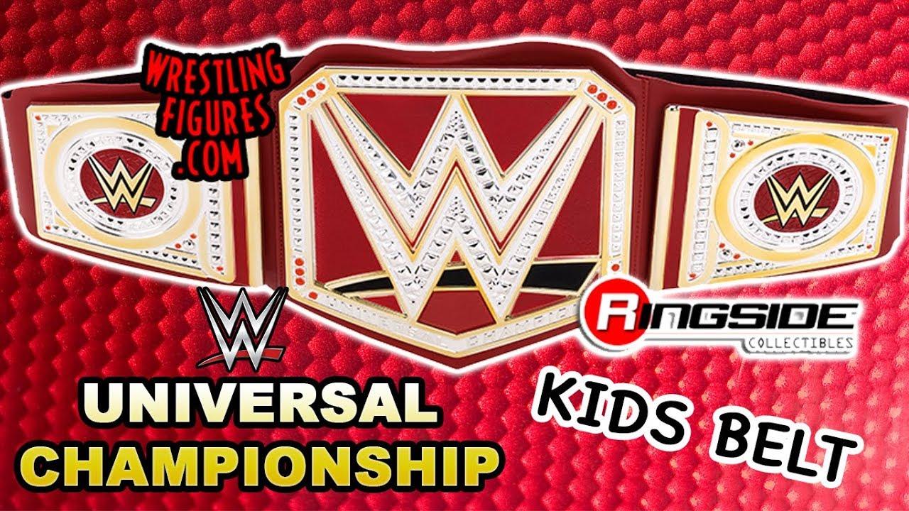 Custom WWE World Heavyweight Championship For Elite Figures Toy Belt