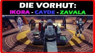 Destiny - Cayde Ikora Zavala | DIE VORHUT