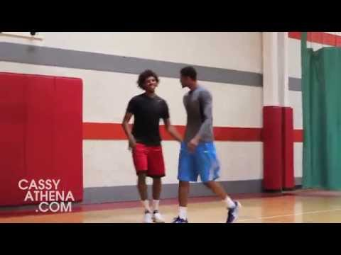 Thru The Lens: (WORKOUT): Lost Footage -Off Season workouts: Nick Young vs Paul George
