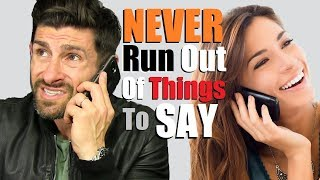 6 Tricks to NEVER Run Out of Things to Say! (How to Keep a Conversation Going)