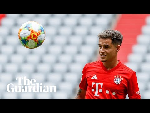 Bayern sign Philippe Coutinho on loan from Barcelona for £7.8m