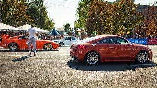 Toyota Supra 700+ hp vs Audi TTS 500+ hp