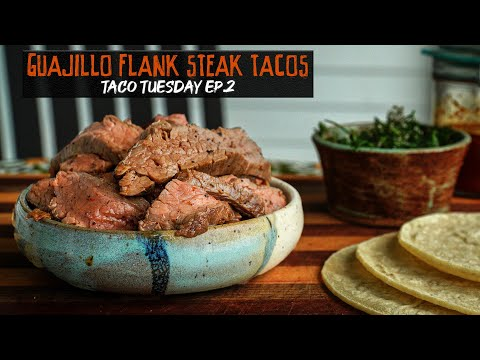 Taco Tuesday EP.2 // Marinated (after grilling) Flank Steak + Cilantro Salad