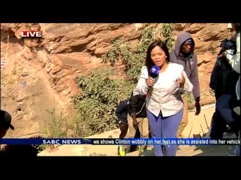 Families Of Illegal Miners Want To Go Underground And Rescue Them