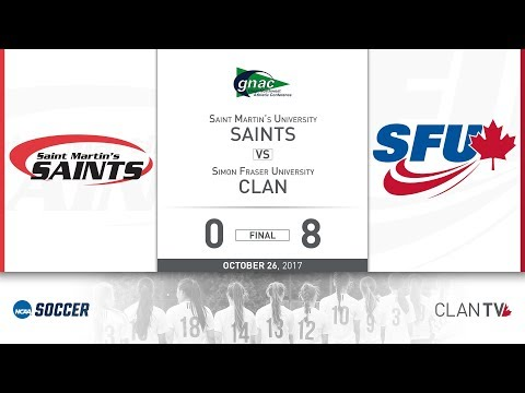 SFU Clan Women's Soccer vs. SMU - October 26, 2017
