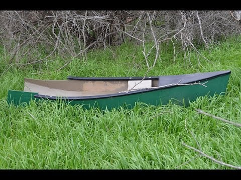 How to fix a hole in a canoe or kayak